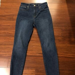JCrew High Rise Skinny Jeans - Size 29